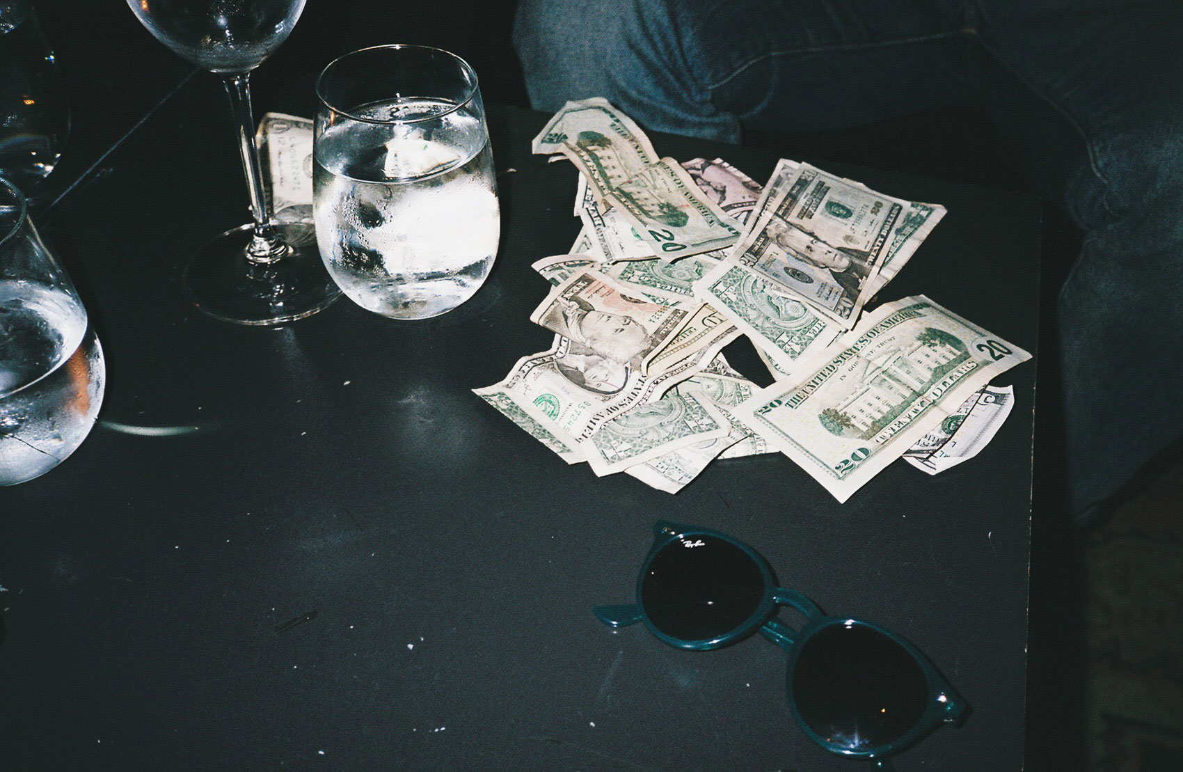 Cash at the NoMad Hotel, New York City