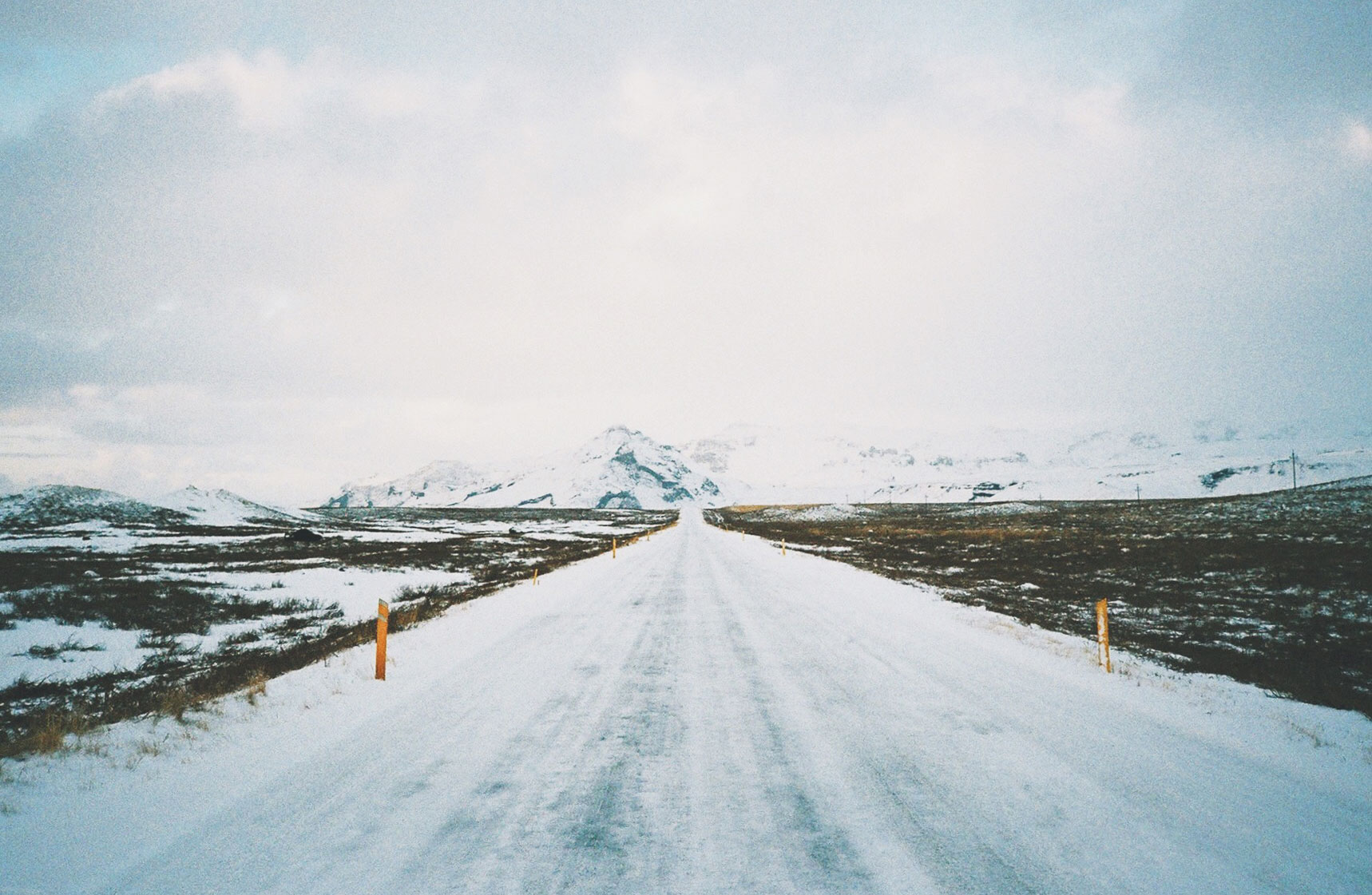 Icy Ring Road Iceland